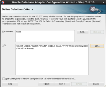 Teaching how to use the Oracle OSB/SOA Database Adapter