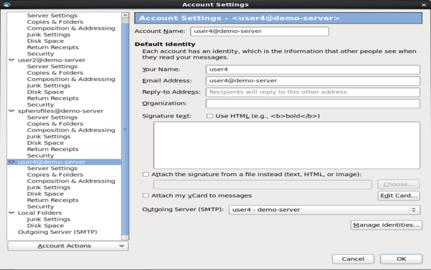 Teaching How To Install and Configure the Apache James Mail Server