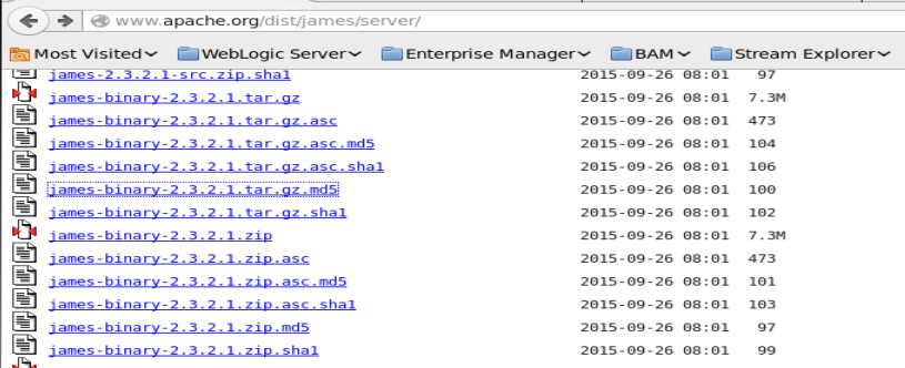 Teaching How To Install and Configure the Apache James Mail