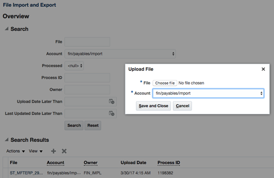 Automate ERP Cloud Batch Uploads using Oracle MFT and Integration