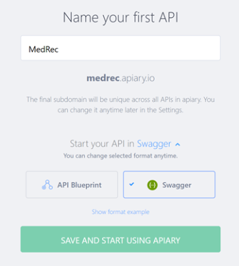 Teaching how to design and secure an api with oracle api platform also make sure to click on blueprint link below and select swagger as the default api specification format to be used then click on save and start using malvernweather Gallery
