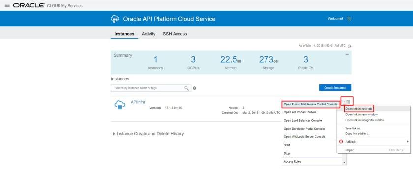 Oracle API Platform Cloud Service – Installation Steps of Gateway
