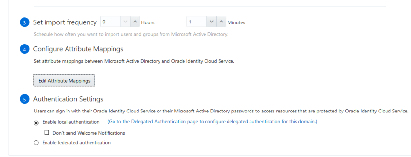 Active Directory Delegated Authentication in Oracle Identity