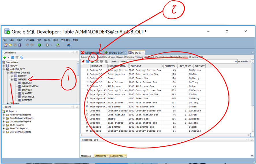 Teaching a trick to easily import Excel Data into Oracle