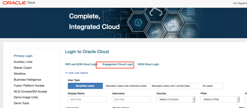 Oracle Engagement Cloud Event Processing using Sales Cloud Adapter