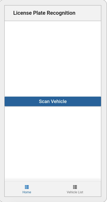 License Plate Recognition Mobile App using Oracle Cloud